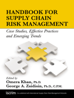 Handbook for Supply Chain Risk Management