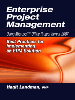 Enterprise Project Management Using Microsoft® Office Project Server 2007