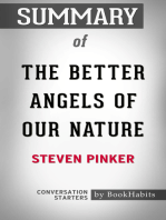 Summary of The Better Angels of Our Nature by Steven Pinker | Conversation Starters