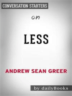 Less: by Andrew Sean Greer | Conversation Starters
