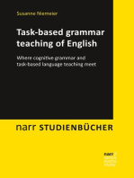 Task-based grammar teaching of English: Where cognitive grammar and task-based language teaching meet