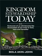 Kingdom Stewardship Today