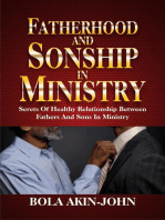 Fatherhood and Sonship in Ministry