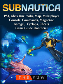 Subnautica, PS4, Xbox One, Wiki, Map, Multiplayer, Console, Commands, Magnetite, Aerogel, Cyclops, Cheats, Game Guide Unofficial: Get Tons of Resources!