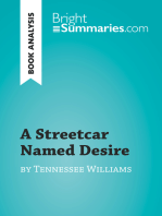 A Streetcar Named Desire by Tennessee Williams (Book Analysis)