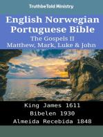 English Norwegian Portuguese Bible - The Gospels II - Matthew, Mark, Luke & John