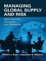 Managing Global Supply and Risk