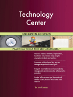 Technology Center Standard Requirements