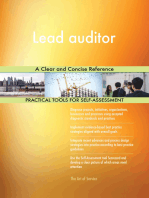 Lead auditor A Clear and Concise Reference