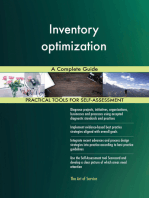Inventory optimization A Complete Guide