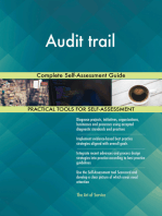 Audit trail Complete Self-Assessment Guide