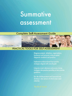 Summative assessment Complete Self-Assessment Guide