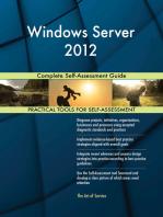 Windows Server 2012 Complete Self-Assessment Guide