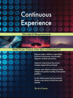 Continuous Experience Standard Requirements
