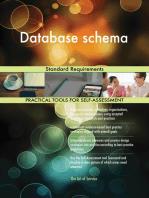 Database schema Standard Requirements