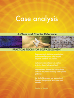 Case analysis A Clear and Concise Reference