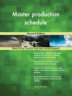 Master production schedule Second Edition