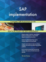 SAP implementation Complete Self-Assessment Guide