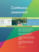 Continuous assessment Standard Requirements