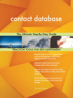 contact database The Ultimate Step-By-Step Guide