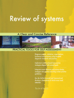Review of systems A Clear and Concise Reference