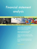 Financial statement analysis A Complete Guide