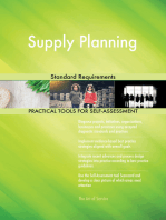 Supply Planning Standard Requirements