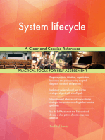 System lifecycle A Clear and Concise Reference