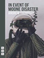 In Event of Moone Disaster (NHB Modern Plays)