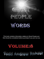 Ghost People Words Volume:8