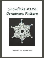 Snowflake #126 Ornament Pattern
