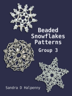 Beaded Snowflake Patterns - Group 3