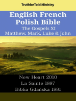 English French Polish Bible - The Gospels XI - Matthew, Mark, Luke & John