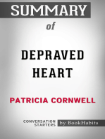 Summary of Depraved Heart: A Scarpetta Novel by Patricia Cornwell | Conversation Starters