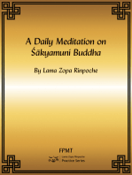 A Daily Meditation on Shakyamuni Buddha eBook
