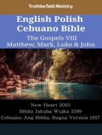 English Polish Cebuano Bible - The Gospels VIII - Matthew, Mark, Luke & John