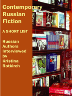 Contemporary Russian Fiction
