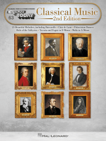 Classical Music - 2nd Edition: E-Z Play Today Volume 63