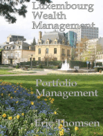 Luxembourg Wealth Management Portfolio Management