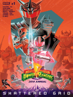 Mighty Morphin Power Rangers 2018 Annual #1