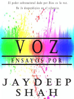 Voz: Ensayos por Jaydeep Shah