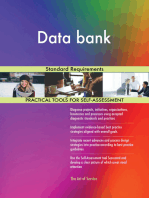 Data bank Standard Requirements