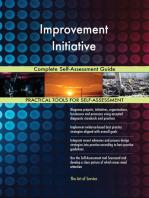 Improvement Initiative Complete Self-Assessment Guide