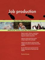 Job production Standard Requirements