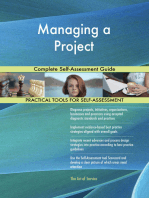 Managing a Project Complete Self-Assessment Guide