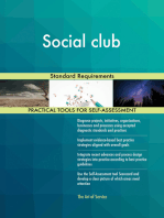Social club Standard Requirements