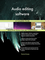 Audio editing software A Complete Guide