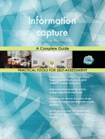 Information capture A Complete Guide