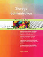 Storage administration A Complete Guide