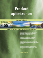 Product optimization Second Edition